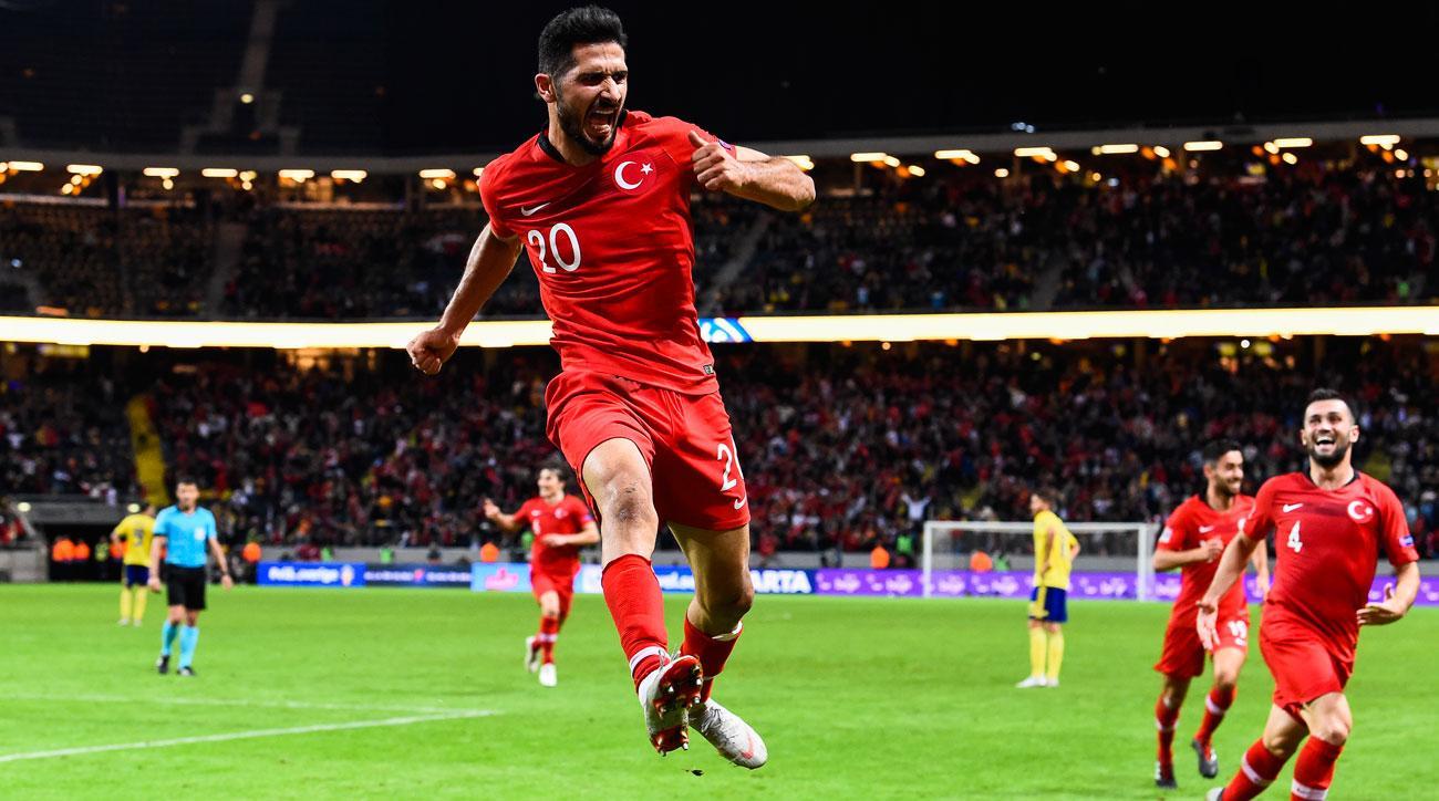 Prediksi Skor Turkey vs Sweden 18 November 2018