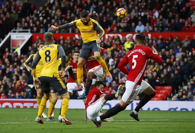 Prediksi Skor Manchester United vs Arsenal 06 Desember 2018