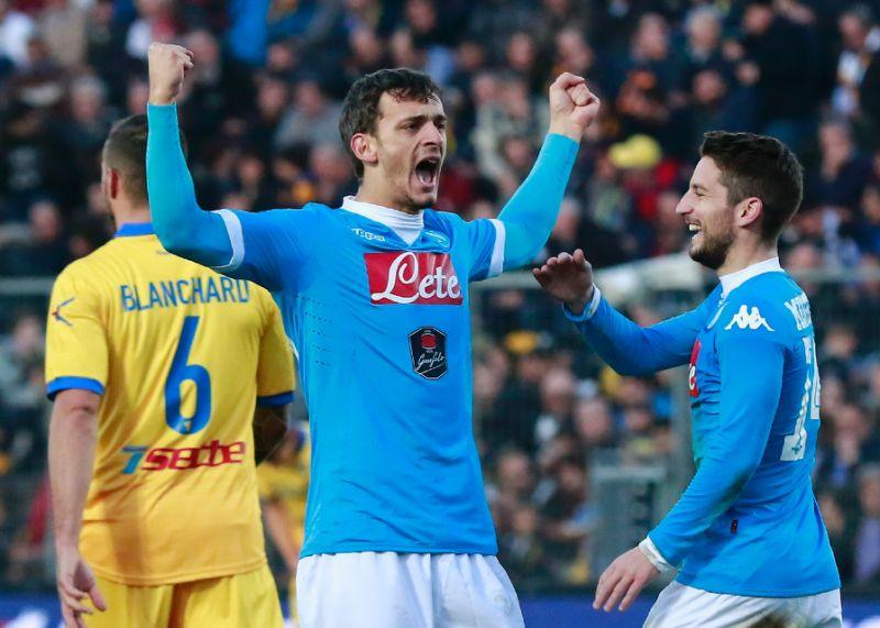 Prediksi Skor Napoli vs Frosinone 08 Desember 2018