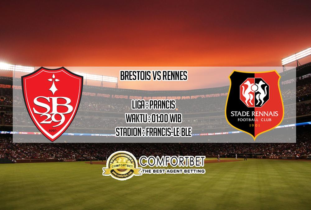 Prediksi Skor Brestois vs Rennes 15 September 2019