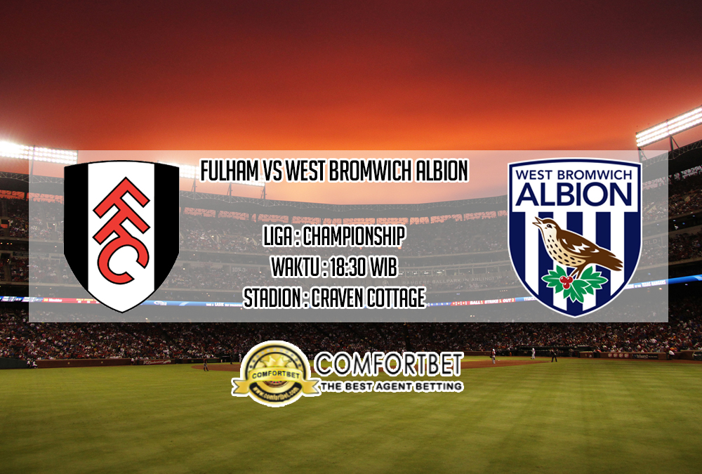 Prediksi Skor Fulham vs West Bromwich Albion 14 September 2019