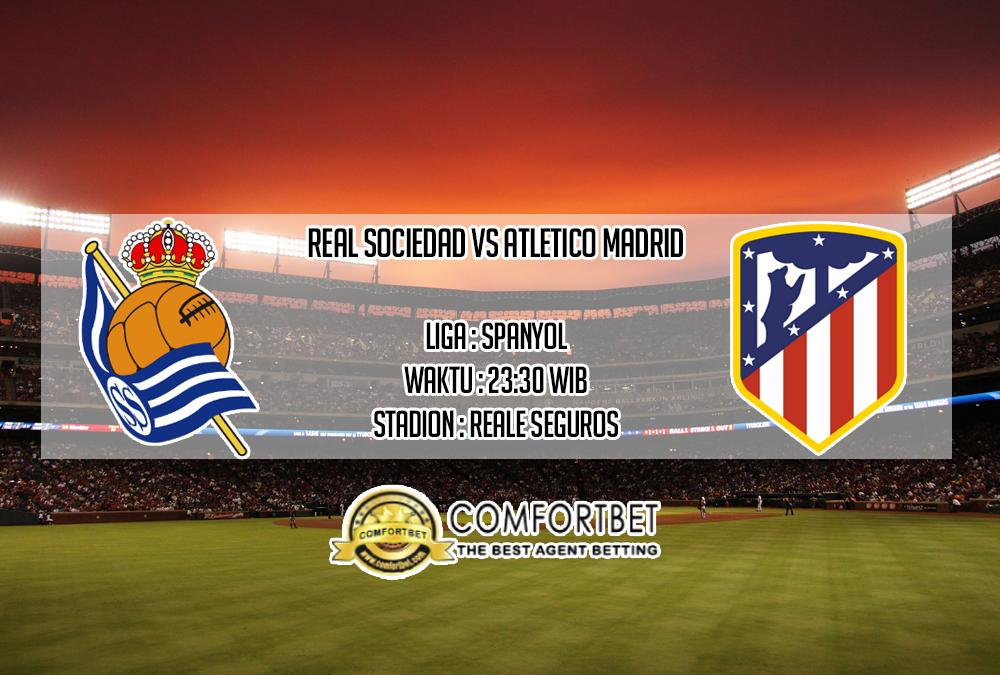 Prediksi Skor Real Sociedad vs Atletico Madrid 14 September 2019