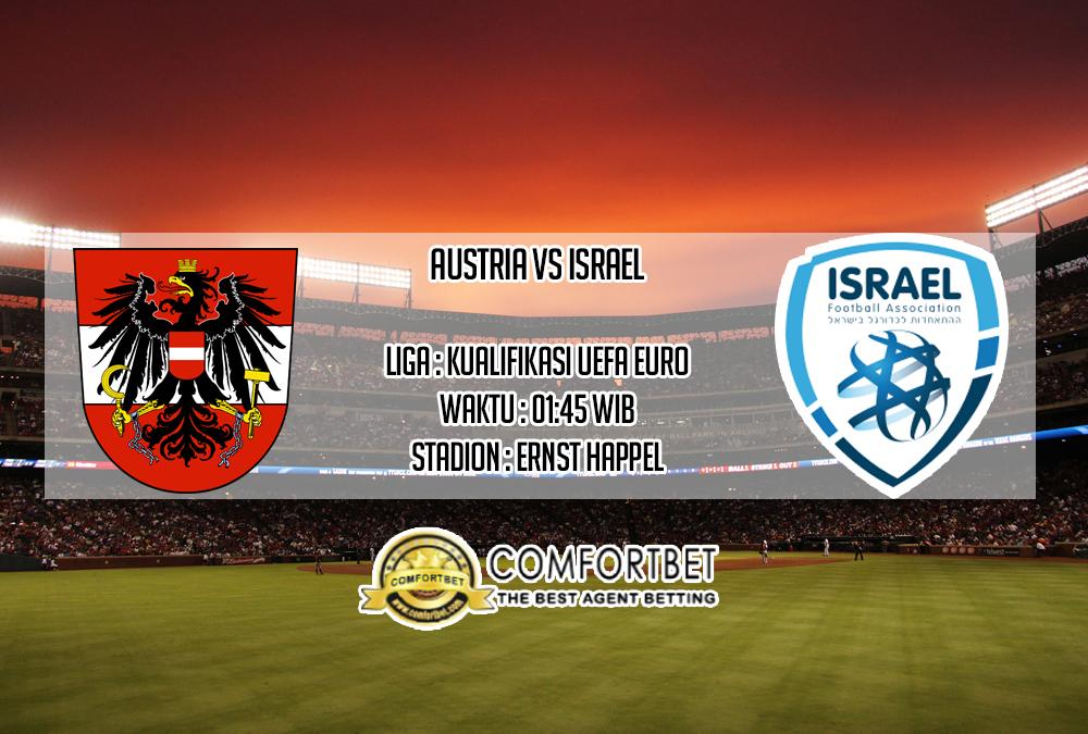 Prediksi Skor Austria Vs Israel 11 Oktober 2019