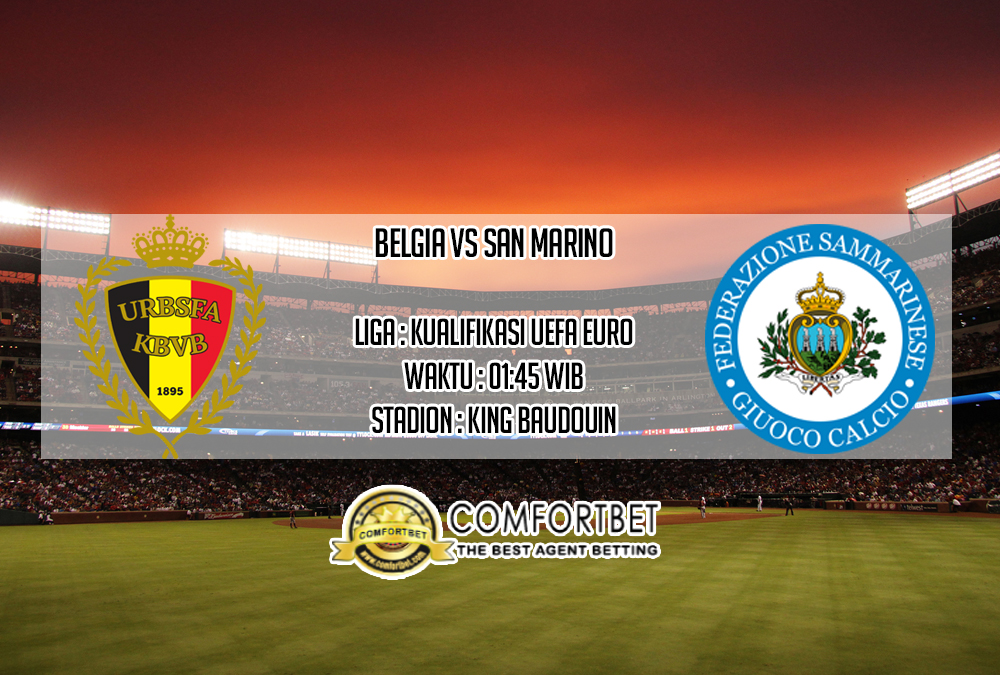Prediksi Skor Belgia vs San Marino 11 Oktober 2019