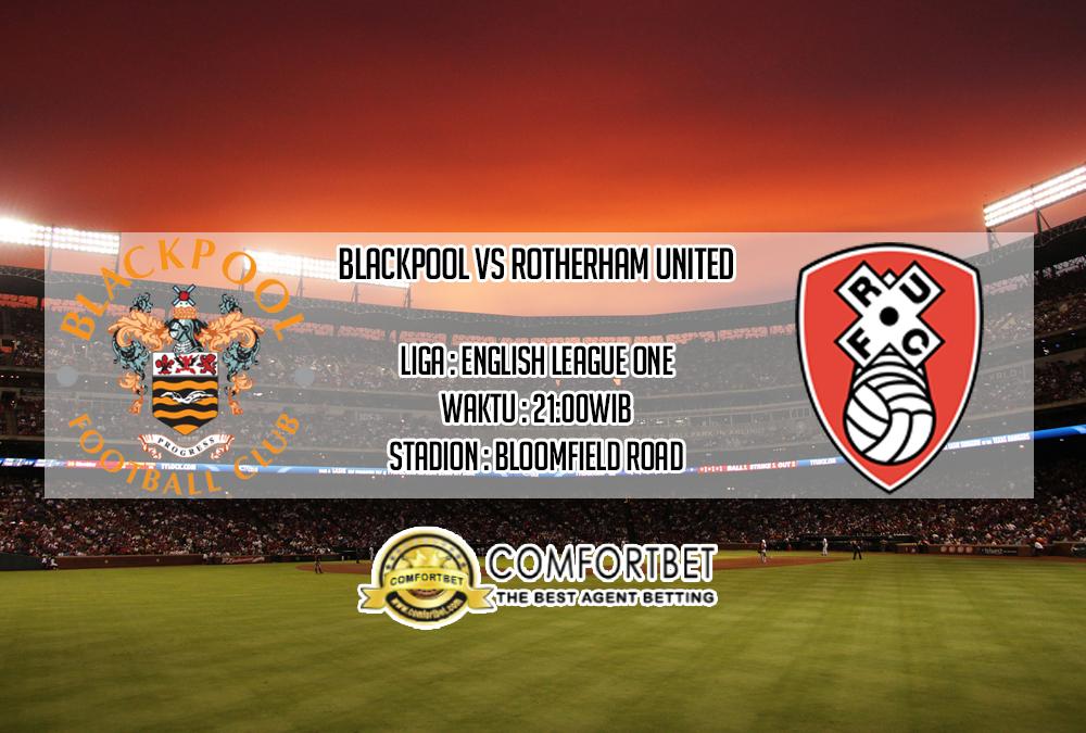 Prediksi Skor Blackpool Vs Rotherham United 12 Oktober 2019