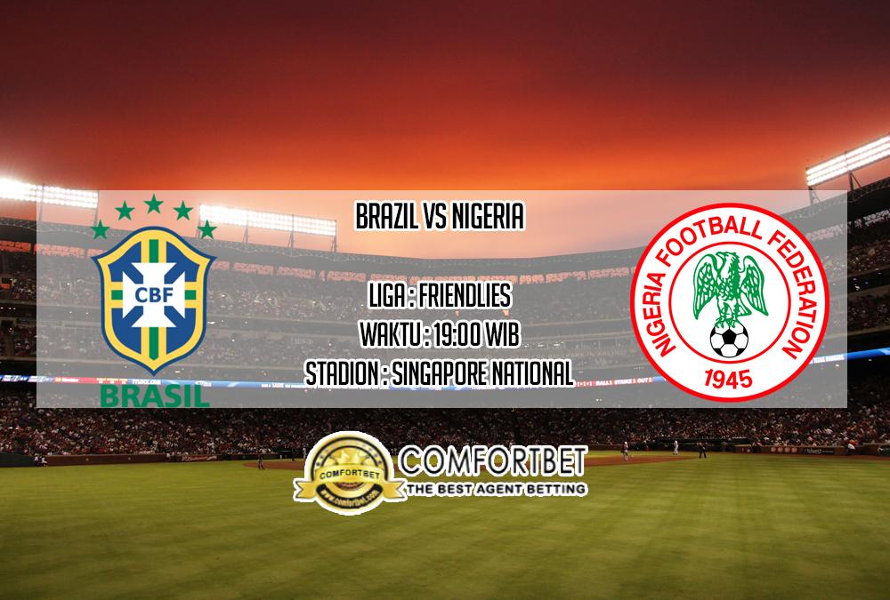 Prediksi Skor Brazil vs Nigeria 13 Oktober 2019