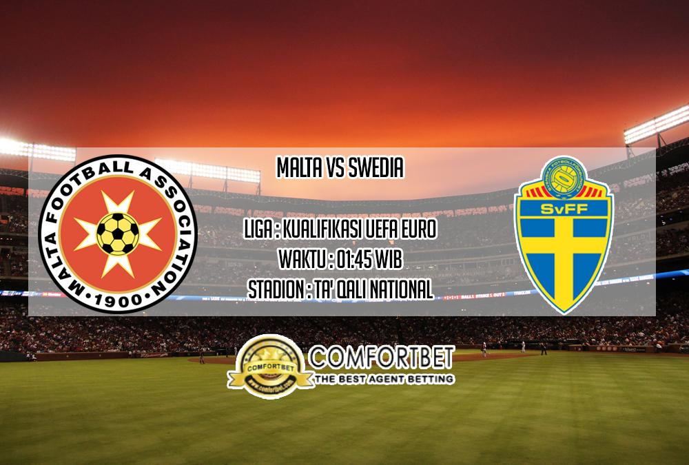 Prediksi Skor Malta vs Swedia 13 Oktober 2019