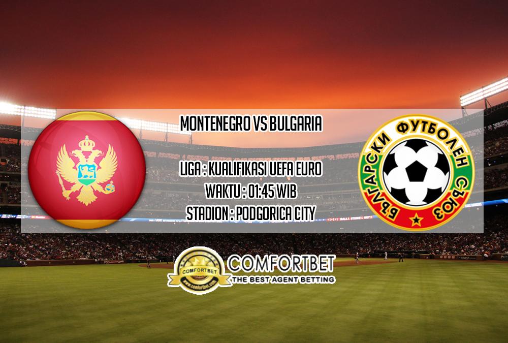 Prediksi Skor Montenegro vs Bulgaria 12 Oktober 2019