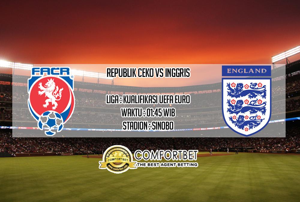 Prediksi Skor Republik Ceko vs Inggris 12 Oktober 2019