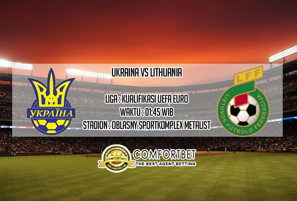 Prediksi Skor Ukraina vs Lithuania 12 Oktober 2019