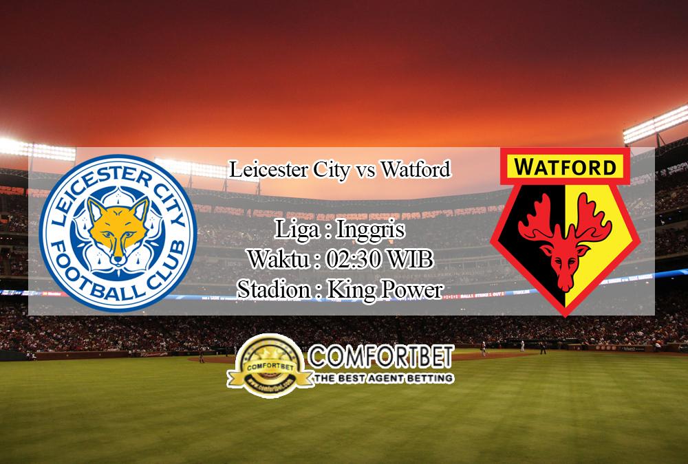 Prediksi Skor Leicester City Vs Watford 5 Desember 2019
