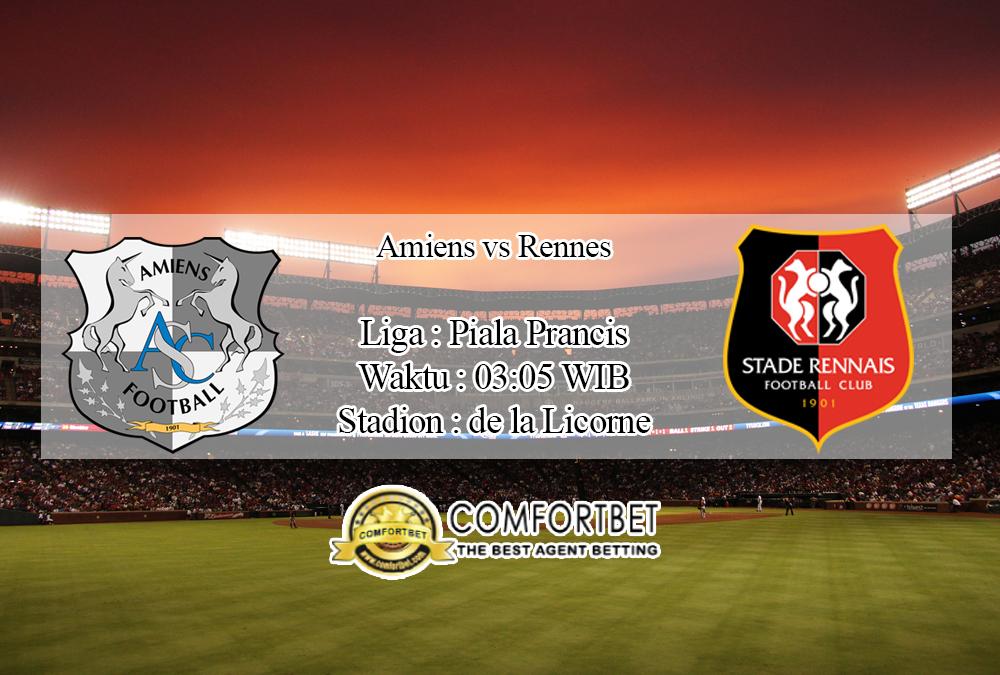 Prediksi Skor Amiens Vs Rennes 19 November 2019