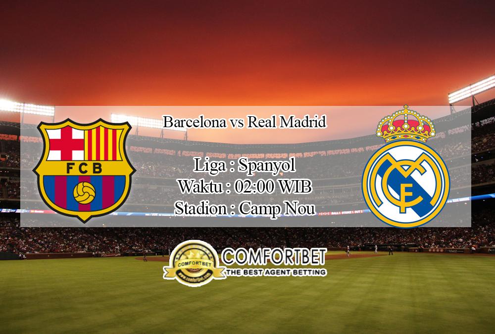 Prediksi Skor Barcelona Vs Real Madrid 19 November 2019