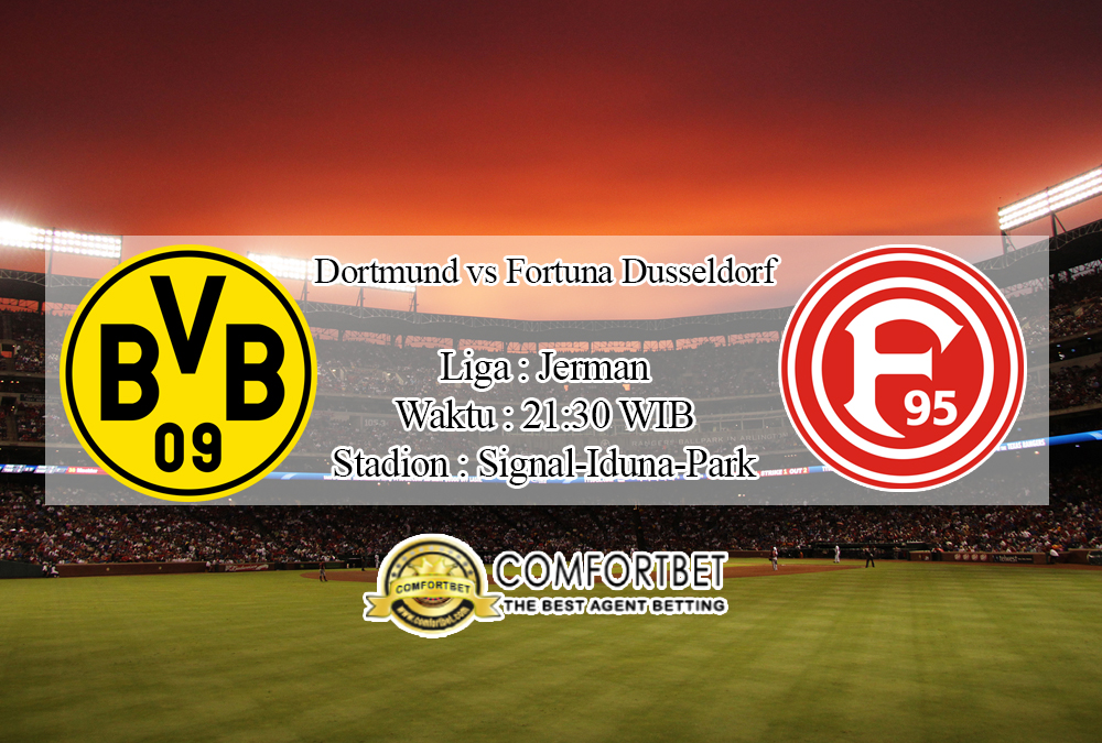 Prediksi Skor Borussia Dortmund Vs Fortuna Dusseldorf 7 Desember 2019