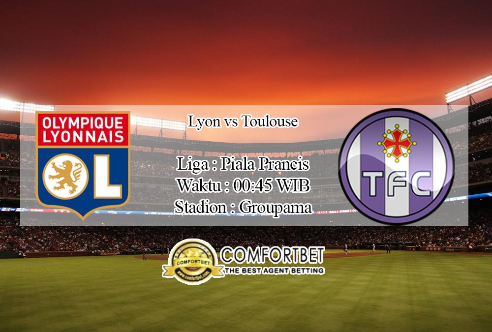 Prediksi Skor Lyon vs Toulouse 19 November 2019