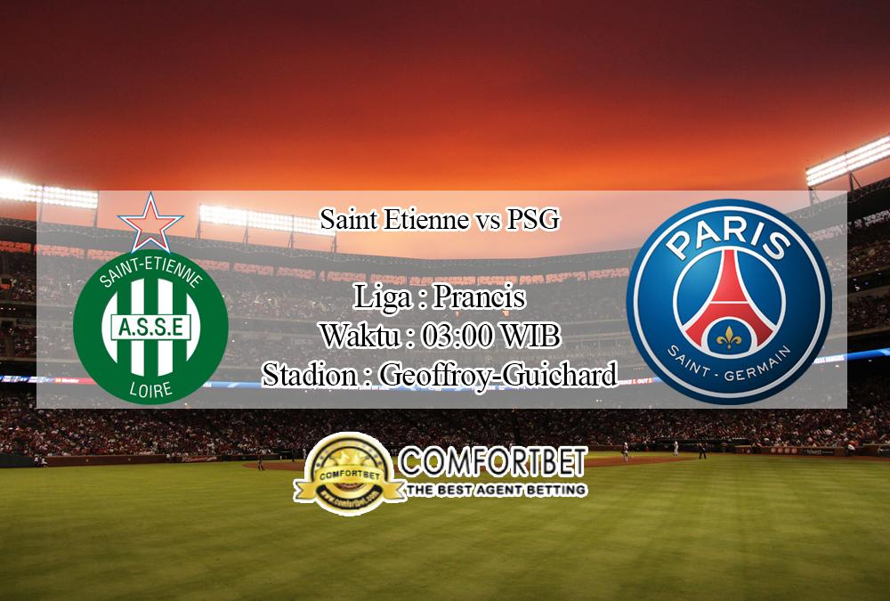 Prediksi Skor Saint Etienne Vs PSG 16 November 2019