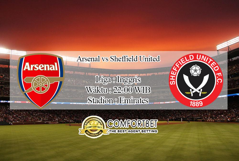 Prediksi Skor Arsenal Vs Sheffield United 18 Januari 2020