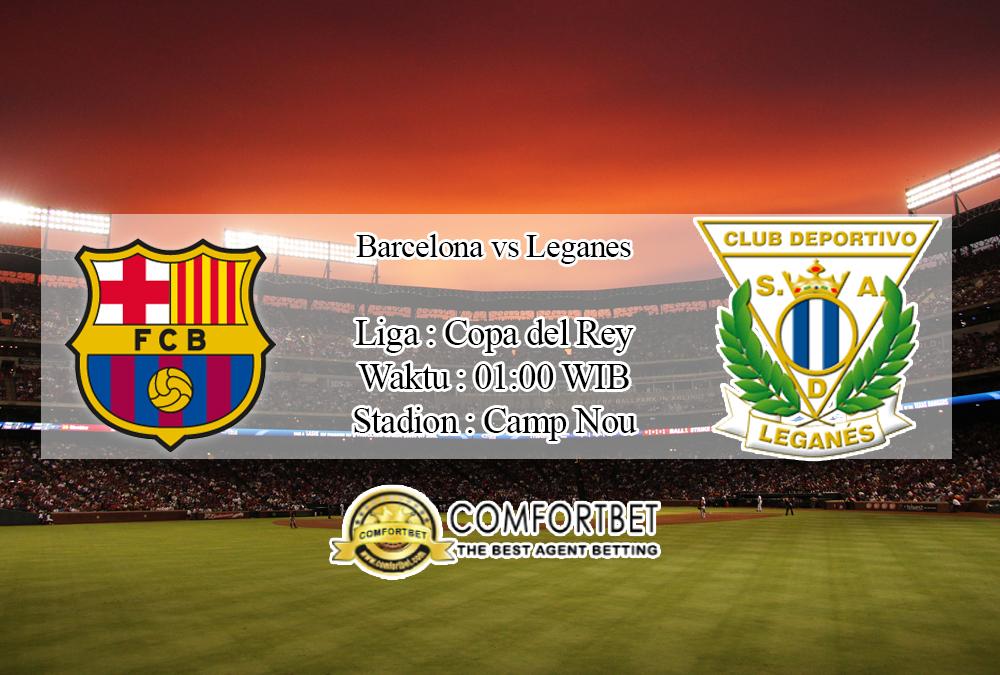 Prediksi Skor Barcelona Vs Leganes 31 Januari 2020