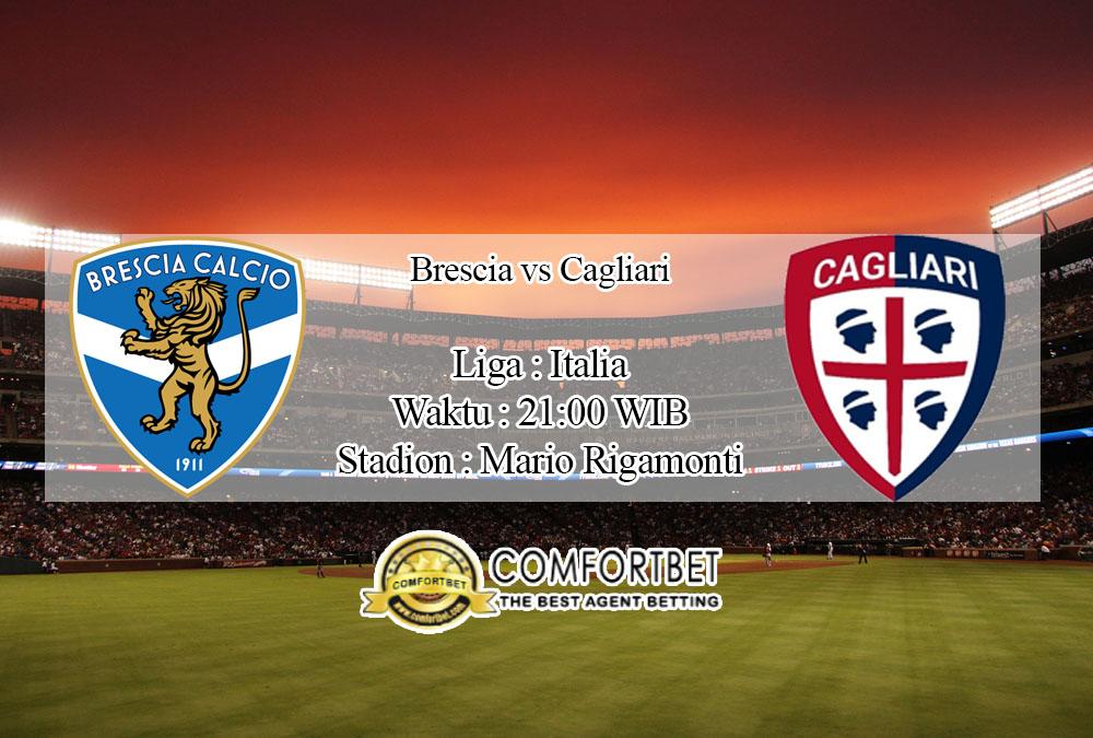 Prediksi Skor Brescia Vs Cagliari 19 Januari 2020