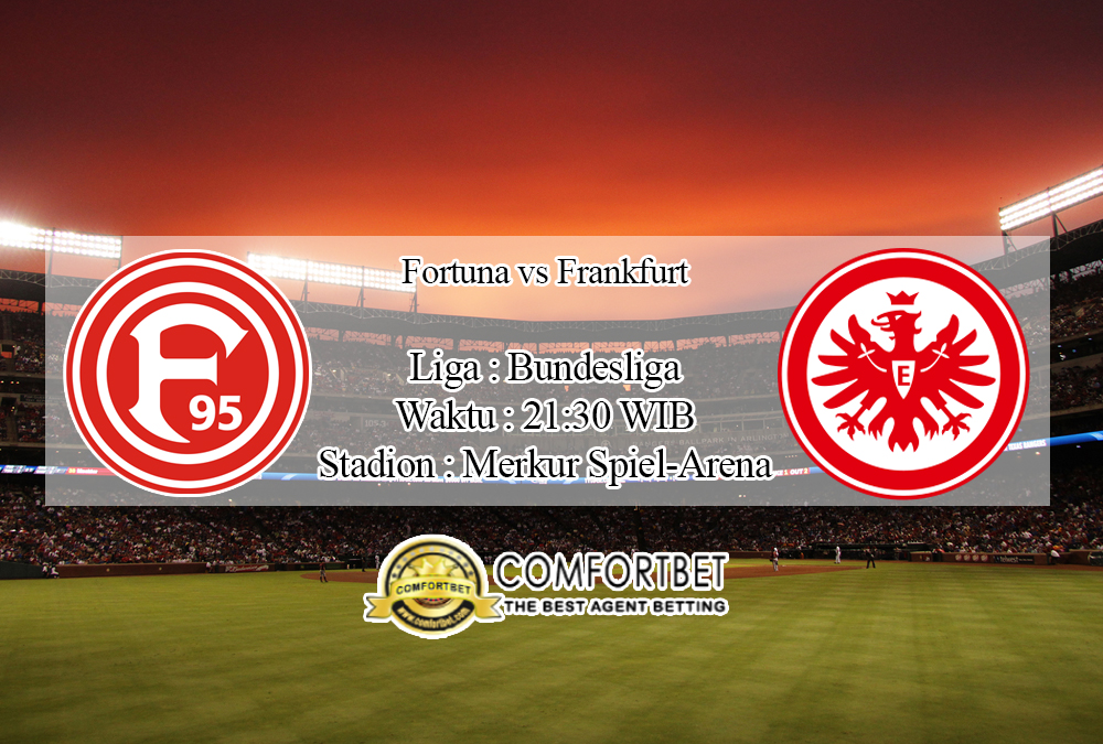 Prediksi Skor Fortuna Dusseldorf Vs Eintracht Frankfurt 1 Februari 2020