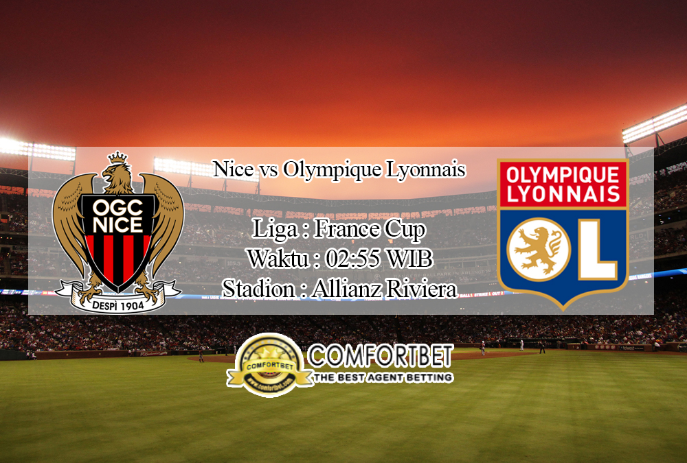 Prediksi Skor Nice Vs Olympique Lyonnais 31 Januari 2020