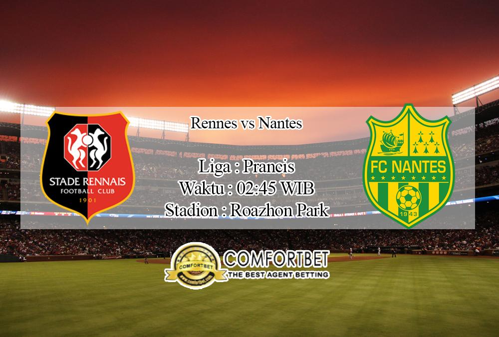 Prediksi Skor Rennes Vs Nantes 1 Februari 2020