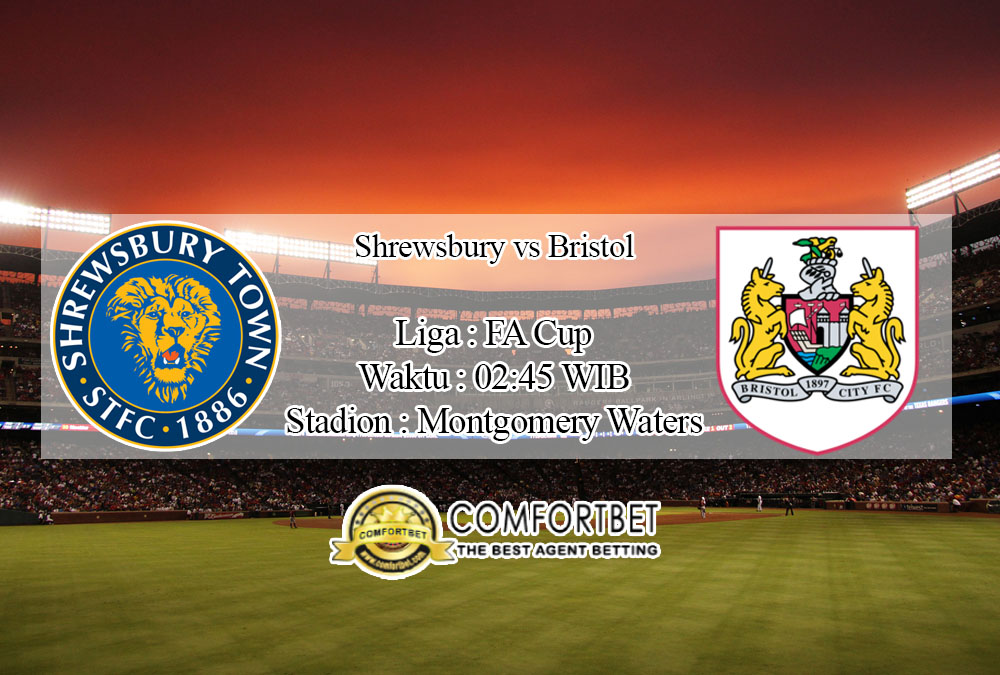 Prediksi Skor Shrewsbury Town Vs Bristol City 15 Januari 2020