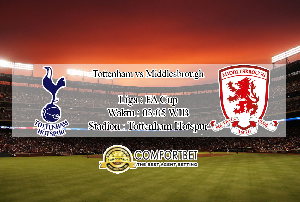 Prediksi Skor Tottenham Hotspur Vs Middlesbrough 15 Januari 2020