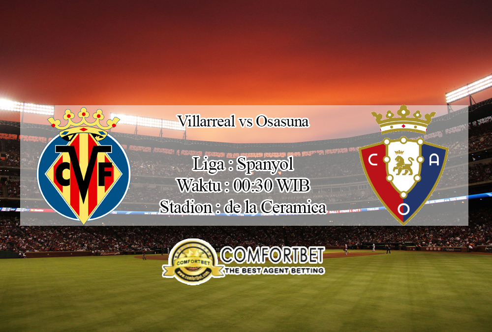 Prediksi Skor Villarreal Vs Osasuna 2 Februari 2020