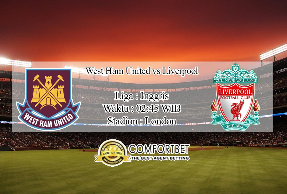 Prediksi Skor West Ham United Vs Liverpool 30 Januari 2020