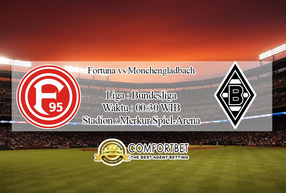 Prediksi Bola Fortuna Dusseldorf Vs Borussia Monchengladbach 16 Februari 2020