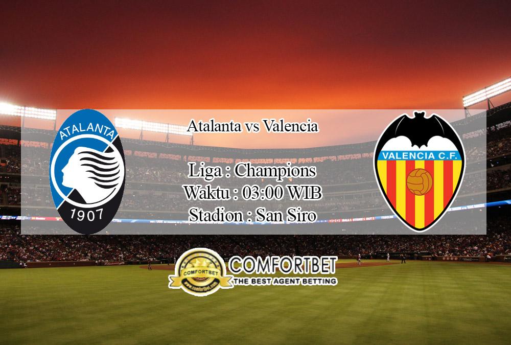 Prediksi Skor Atalanta Vs Valencia 20 Februari 2020
