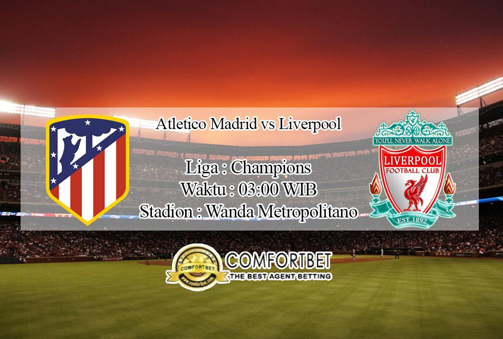 Prediksi Bola Atletico Madrid Vs Liverpool 19 Februari 2020
