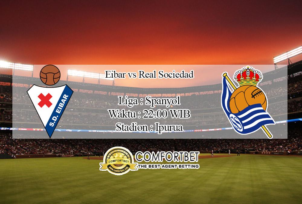 Prediksi Bola Eibar Vs Real Sociedad 16 Februari 2020