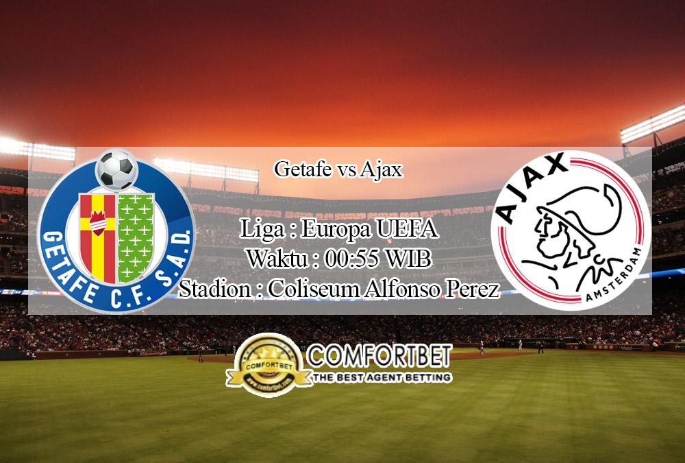 Prediksi Skor Getafe Vs Ajax 21 Februari 2020