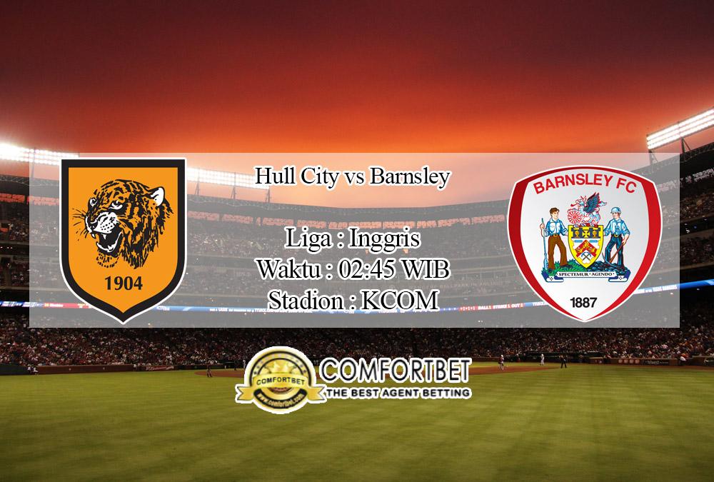 Prediksi Bola Hull City Vs Barnsley 27 Februari 2020