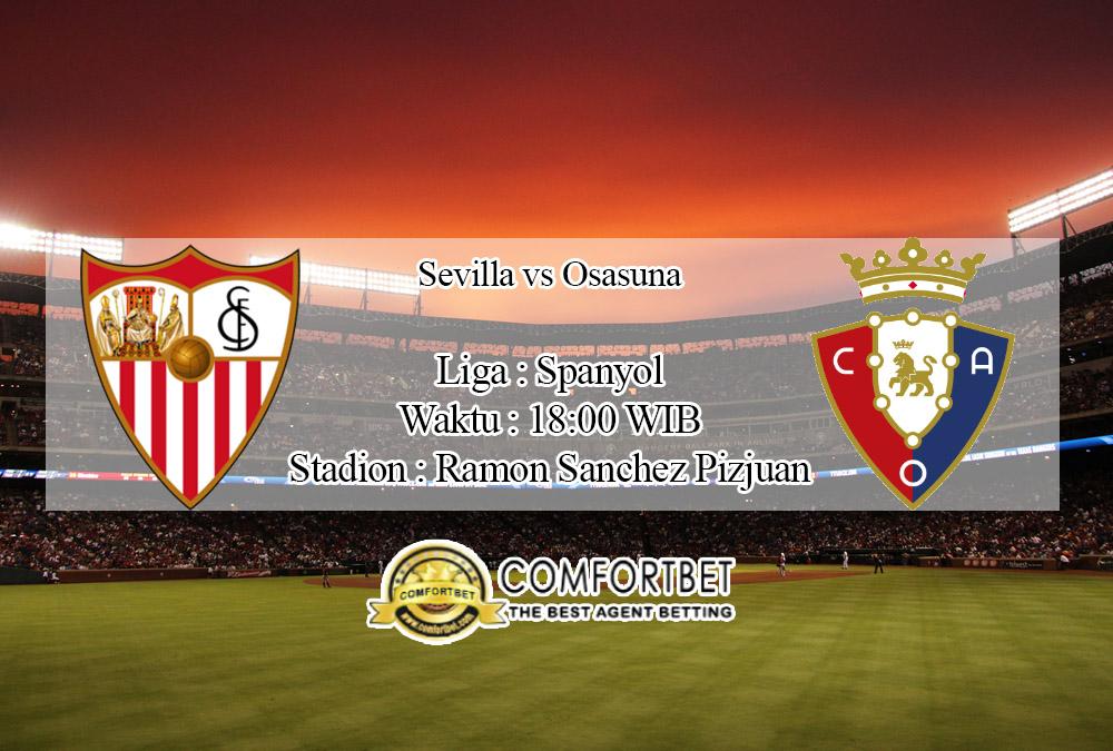Prediksi Bola Sevilla Vs Osasuna 1 Maret 2020