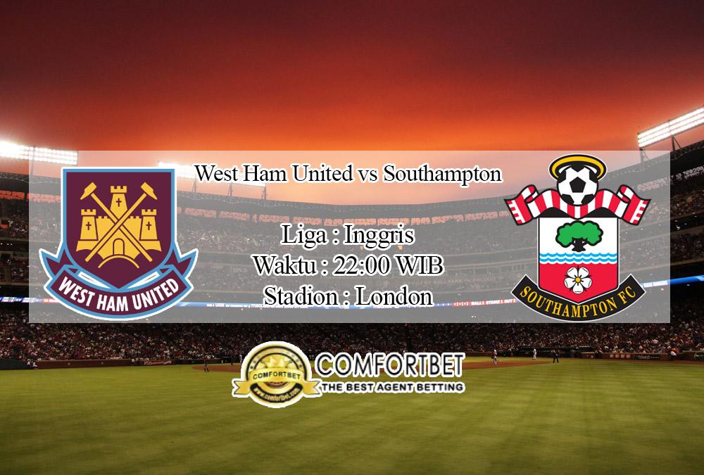 Prediksi Bola West Ham United Vs Southampton 29 Februari 2020