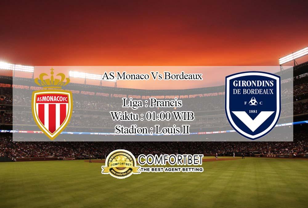 Prediksi Bola AS Monaco vs Bordeaux 19 April 2020