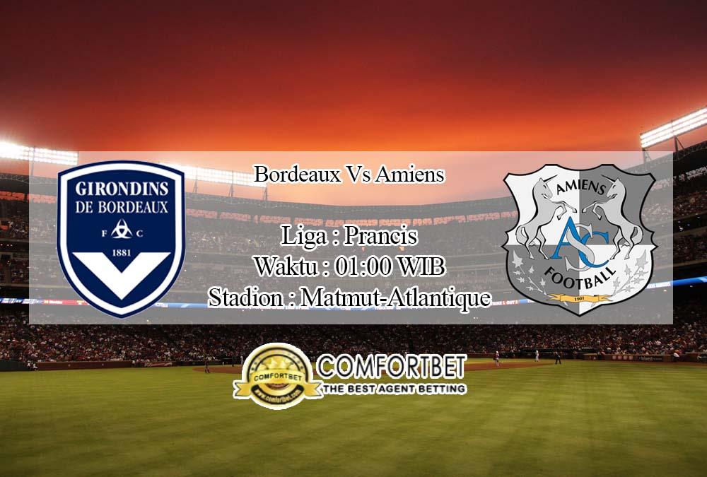 Prediksi Bola Bordeaux vs Amiens 12 April 2020