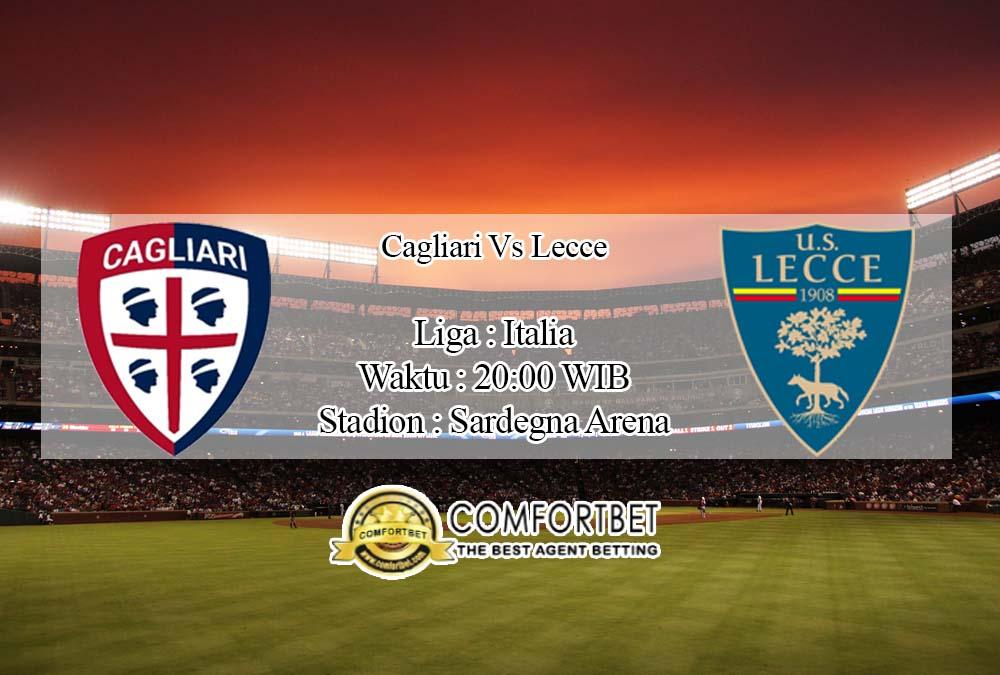 Prediksi Bola Cagliari vs Lecce 19 April 2020