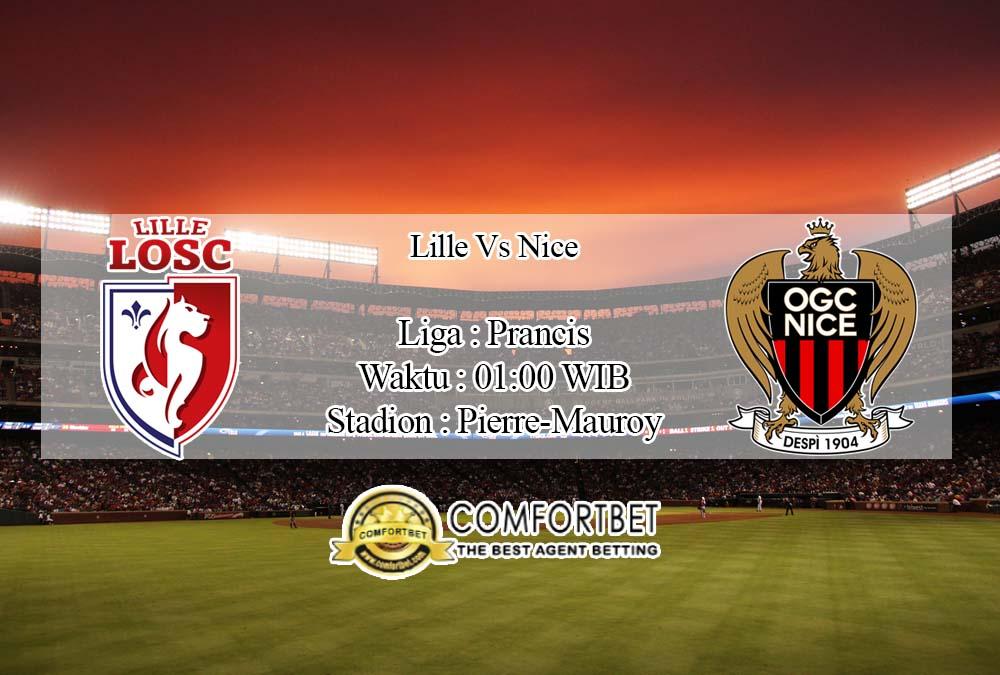 Prediksi Bola Lille vs Nice 19 April 2020
