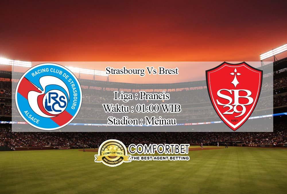 Prediksi Bola Strasbourg vs Brest 19 April 2020