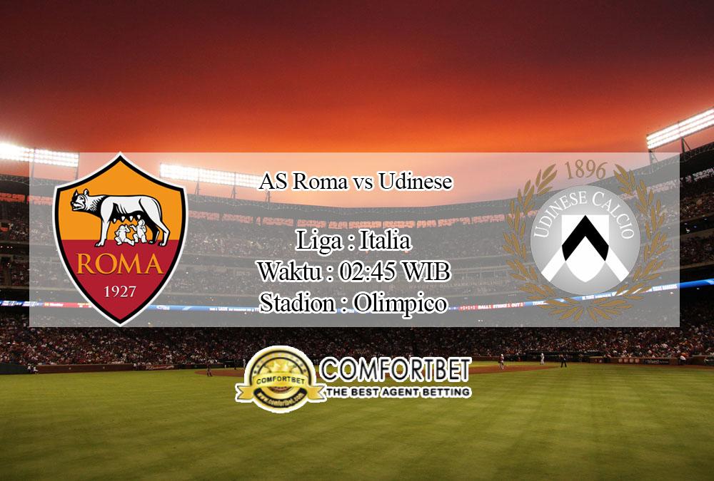 Prediksi Bola AS Roma vs Udinese 3 Juli 2020