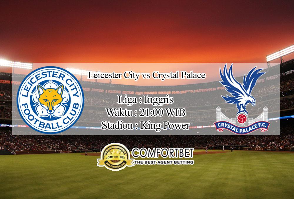 Prediksi Bola Leicester City vs Crystal Palace 4 Juli 2020