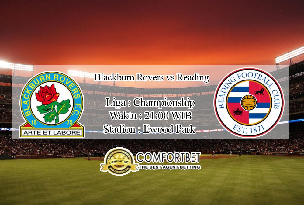 Prediksi Bola Blackburn Rovers vs Reading 18 Juli 2020