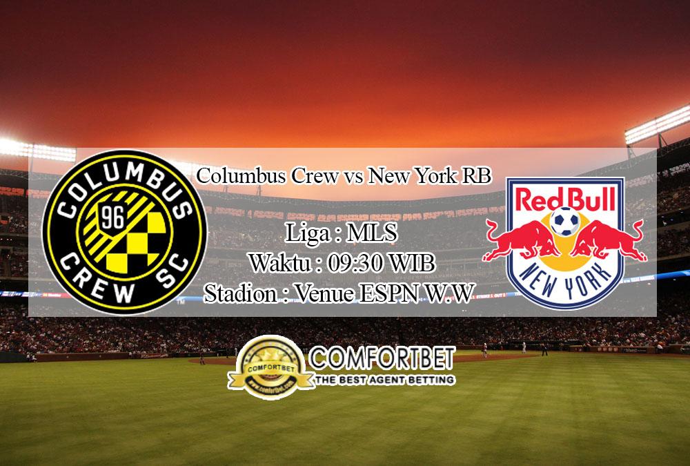 Prediksi Bola Columbus Crew vs New York RB 17 Juli 2020