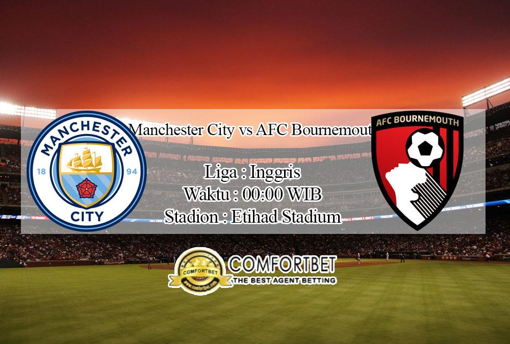 Prediksi Bola Manchester City vs AFC Bournemouth 16 Juli 2020