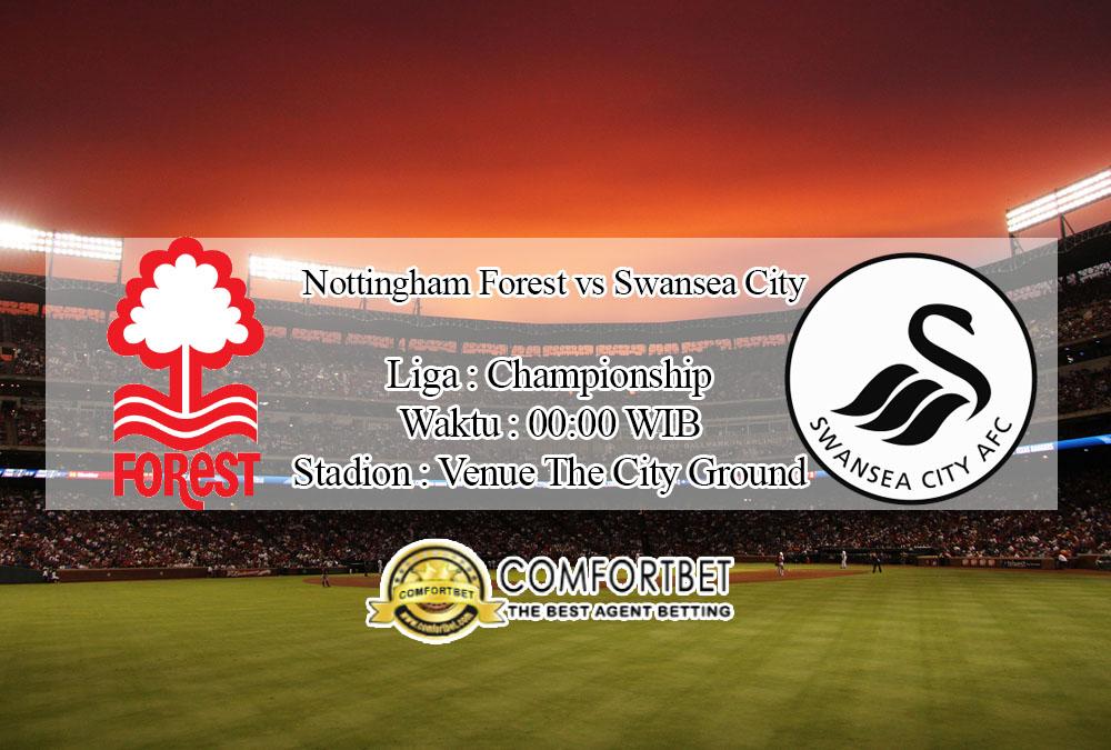Prediksi Bola Nottingham Forest vs Swansea City 16 Juli 2020