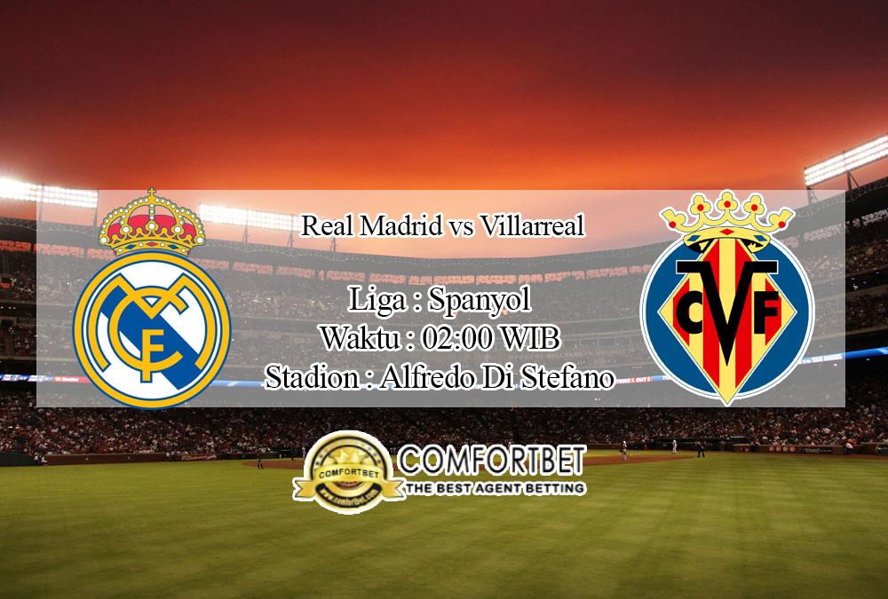 Prediksi Bola Real Madrid vs Villarreal 17 Juli 2020
